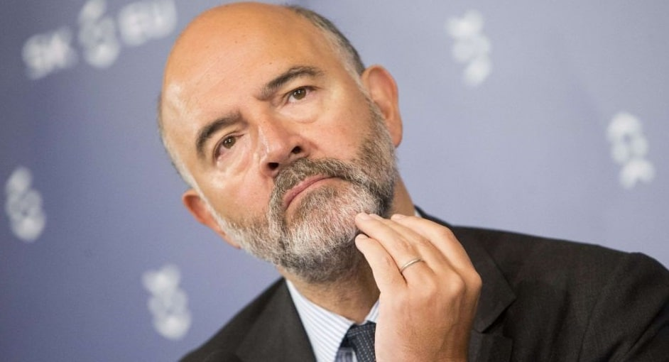 Pierre Moscovici Is Optimistic About Greek Debt Relief