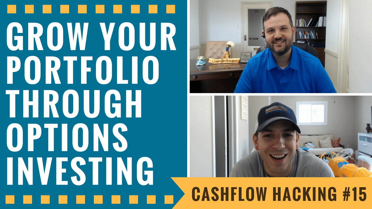 How To Grow Your Portfolio Through Options Investing | Cashflow Hacking Ep #15 Kirk Du Plessis