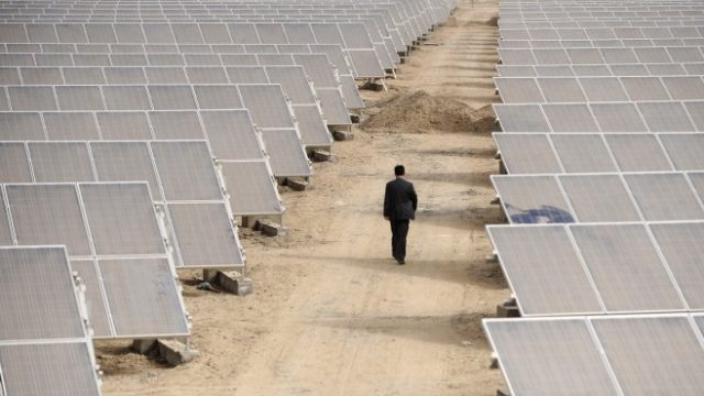 India imposed duties on imports of solar panels from China and