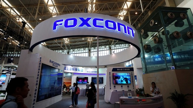 Foxconn reported a 30% increase in earnings for September