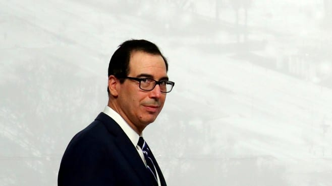 Steven Mnuchin considers that currency issues must be part of the US-China trade talks