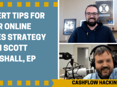 Expert Tips for Your Online Sales Strategy with Scott Marshall, Ep #41