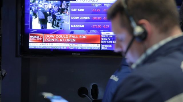 Dow futures fall