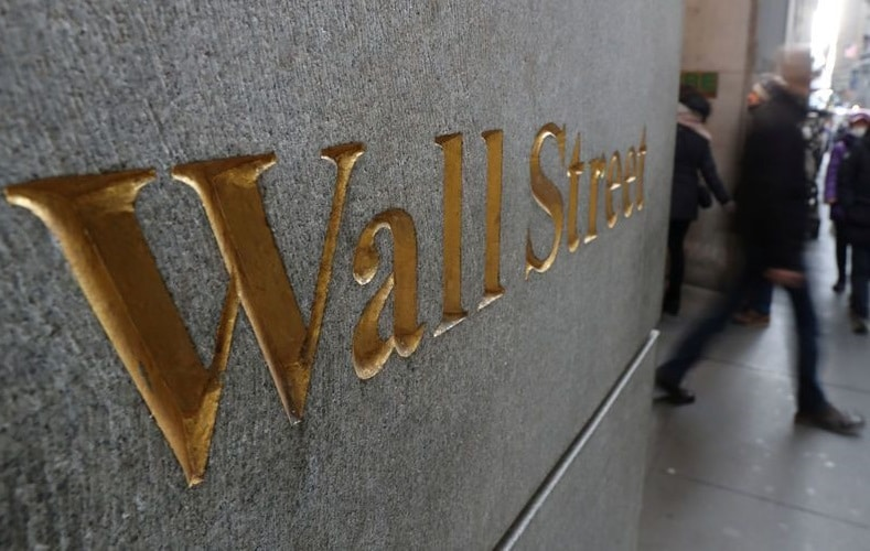 Wall Street indexes fell to a 12-week low