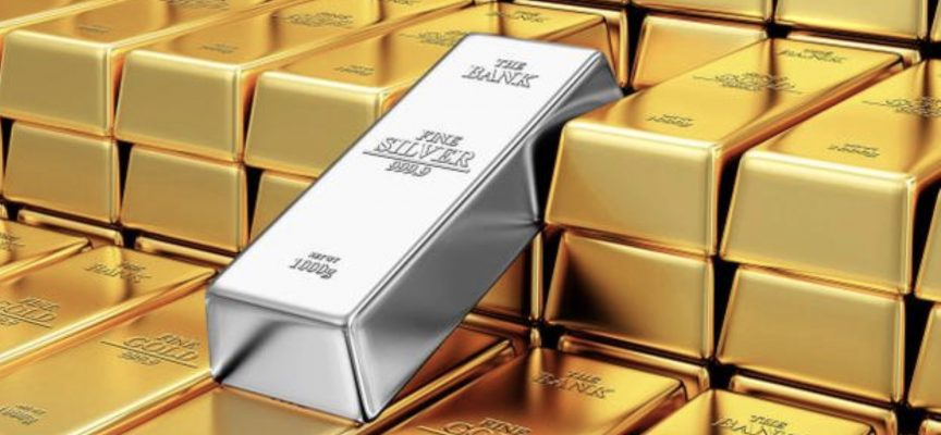 Bears dominate the precious metals market pushing gold prices down to 1-week low