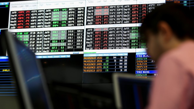 Global stocks edged higher amid hopes of a rate cut from the US Federal Reserve