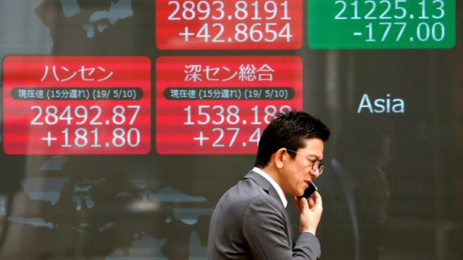 Global stocks retreated on Friday amid tensions in the Middle East and weak factory data in China