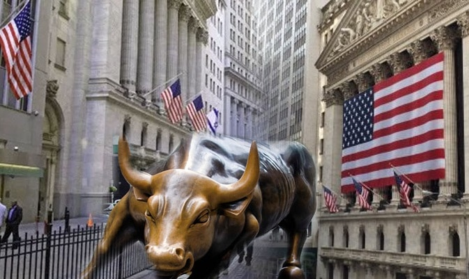 Renewed trade hopes managed to bring Wall Street into the green
