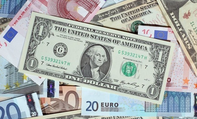 The US Dollar on the rise, while the Euro sinks to its lowest weekly level