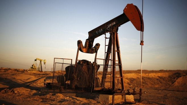 Crude oil prices edged higher on Friday amid rising tensions in the Middle East