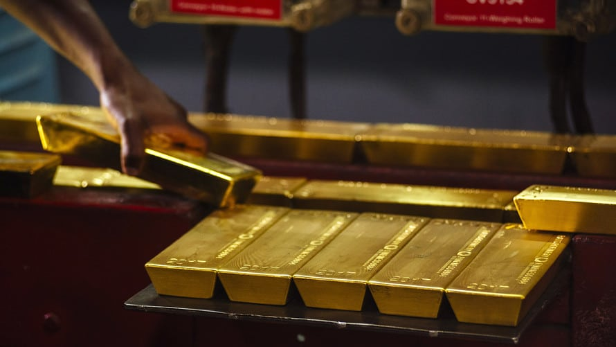 Gold prices gained modestly on Tuesday