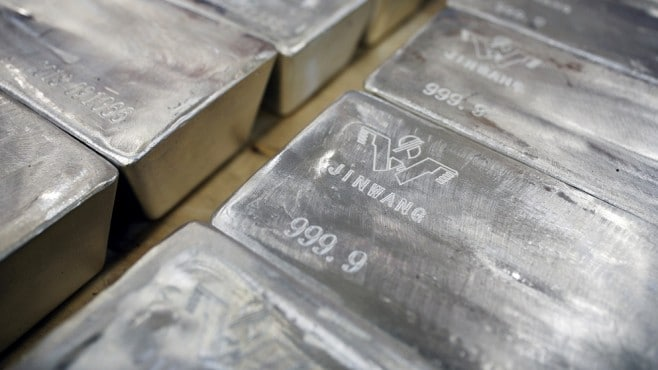 Silver is the worst performing precious metal this year