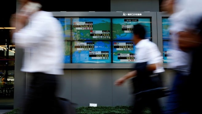 Global stocks edged higher on Friday amid China's stimulus hopes