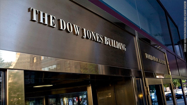 Dow Jones recovered after 589-point skid to end nearly flat