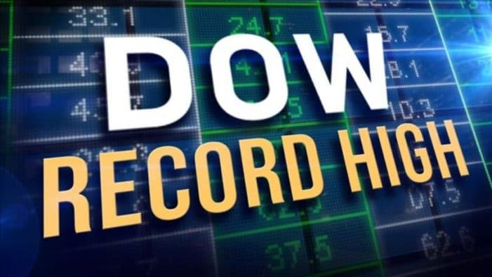 Dow Jones crossed the 28,000-point threshold for the first time in its history