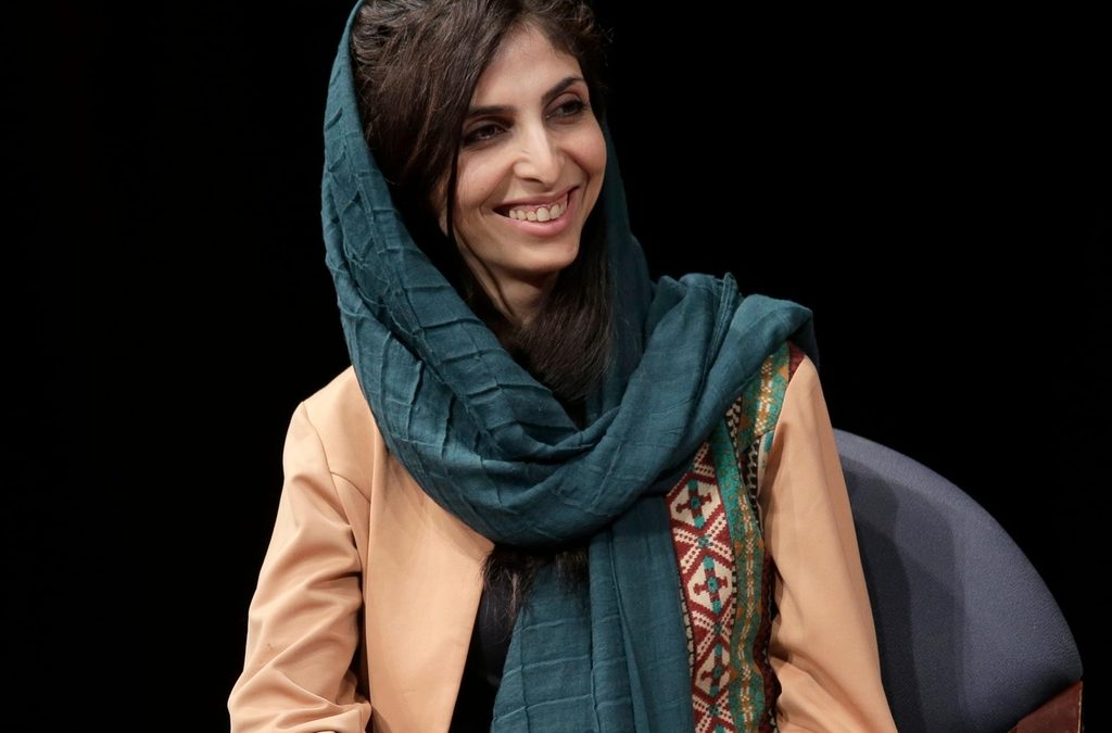 Roya Mahboob ignored the death threats and did it
